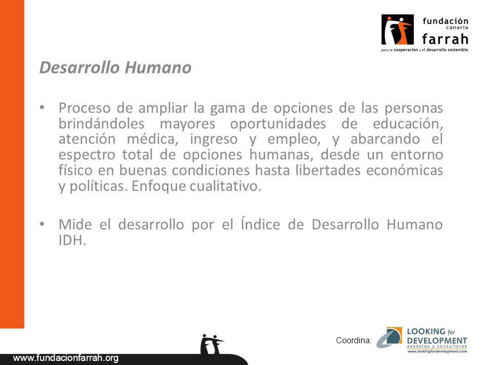 www.fundacionfarrah.org 3.- Años 70: Primera crisis de la cooperación al desarrollo.