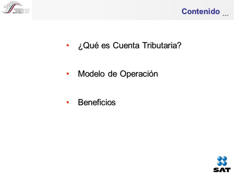 ¿Qué es Cuenta Tributaria ¿Qué es Cuenta Tributaria.