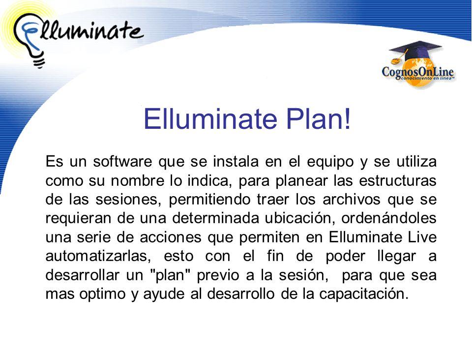 Es un software que se instala en el equipo y se utiliza como su nombre lo indica, para planear las estructuras de las sesiones, permitiendo traer los