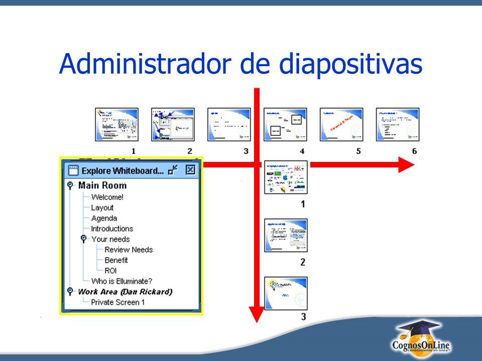 Administrador de diapositivas