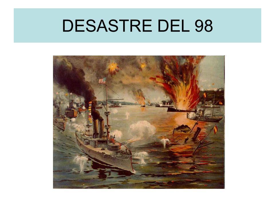 DESASTRE DEL 98