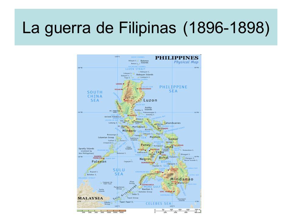 La guerra de Filipinas (1896-1898)