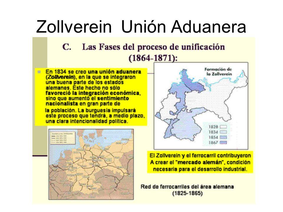 Zollverein Unión Aduanera