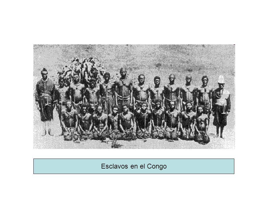 Esclavos en el Congo