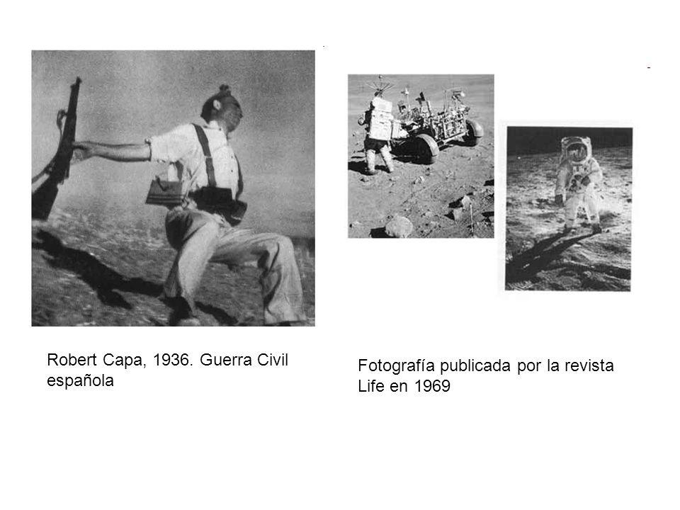 Robert Capa, 1936. Guerra Civil española Fotografía publicada por la revista Life en 1969