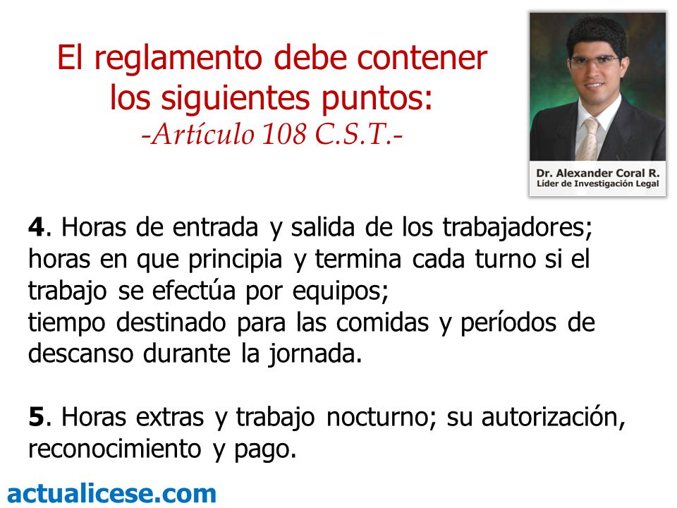 actualicese.com 19.Publicación y vigencia del reglamento.