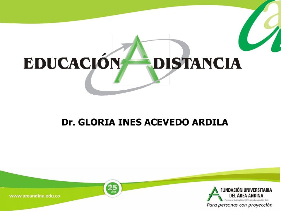 Dr. GLORIA INES ACEVEDO ARDILA
