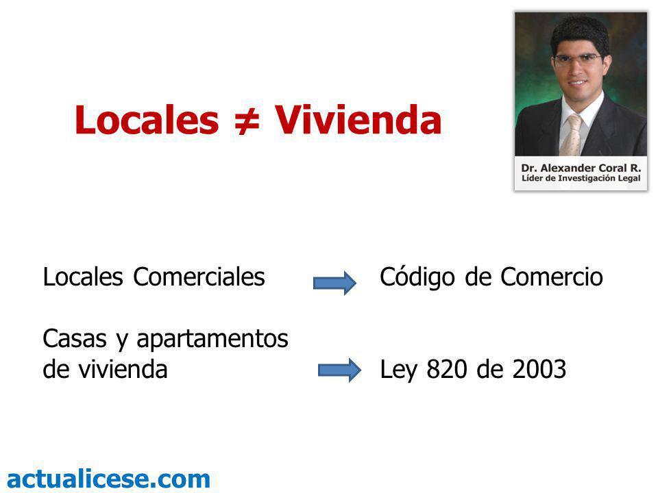 actualicese.com Prórroga automática del contrato de arrendamiento Código de Comercio.