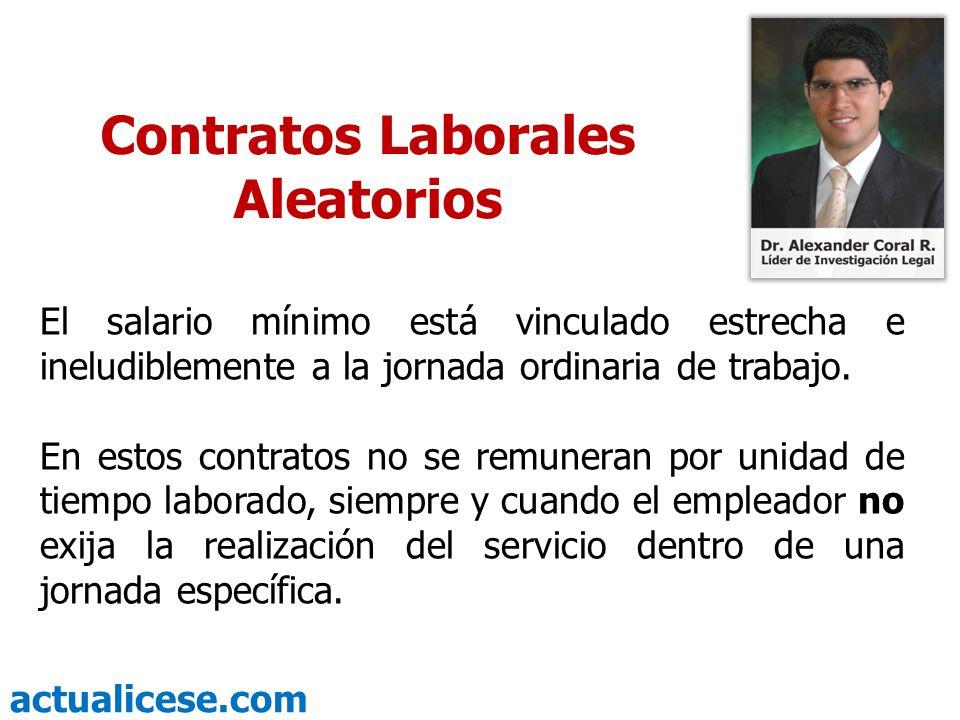 actualicese.com En los contratos con sólo comisiones ¿Cómo se liquida prestaciones sociales.