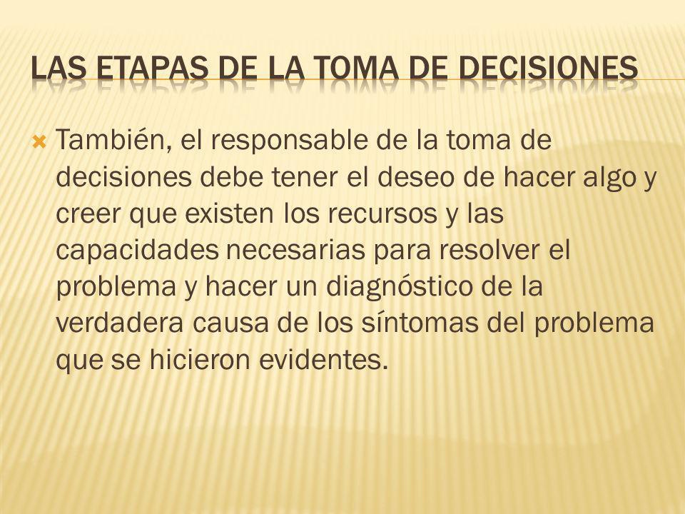 Los sucesos que conducen a las personas a tomar decisiones son muy diversos. Por ejemplo, determinar si se debe otorgar un descuento adicional a un cl