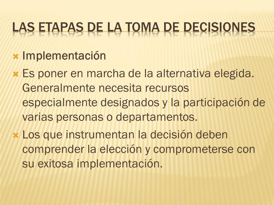 En el ejemplo en análisis, se ha escogido la opción c), otorgarle el descuento especial al cliente previa negociación con el director de ventas. De es