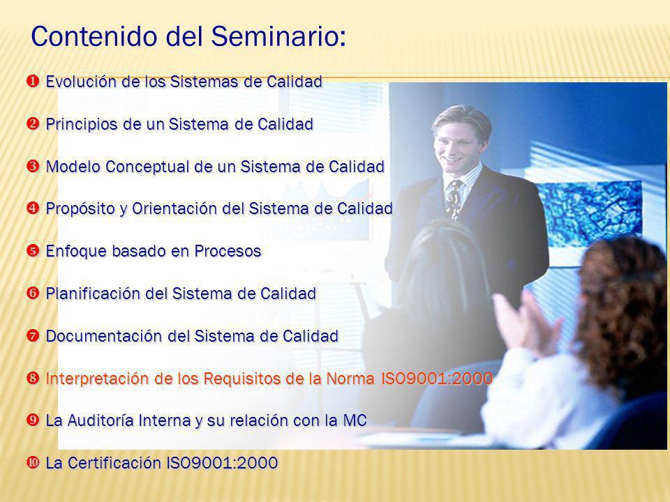 DOCUMENTACIÓN DEL S.G.C ISO 9001 OBJETIVOS Política de la Calidad MANUAL DE LA CALIDAD Registros Los Procesos, Procedimientos Manuales Tec. etc., Proc
