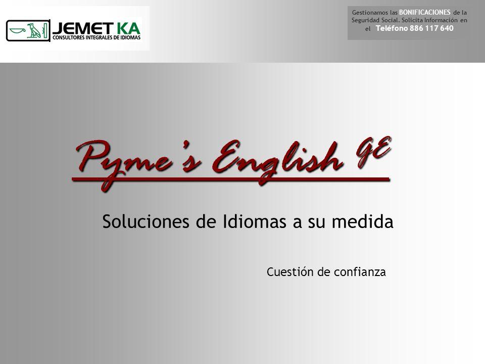 Nuestro material didáctico de apoyo En nuestro mail info@jemetka.com info@jemetka.com o llame al o llame al 886 117 640 CONTACTO Gestionamos las BONIFICACIONES de la Seguridad Social.