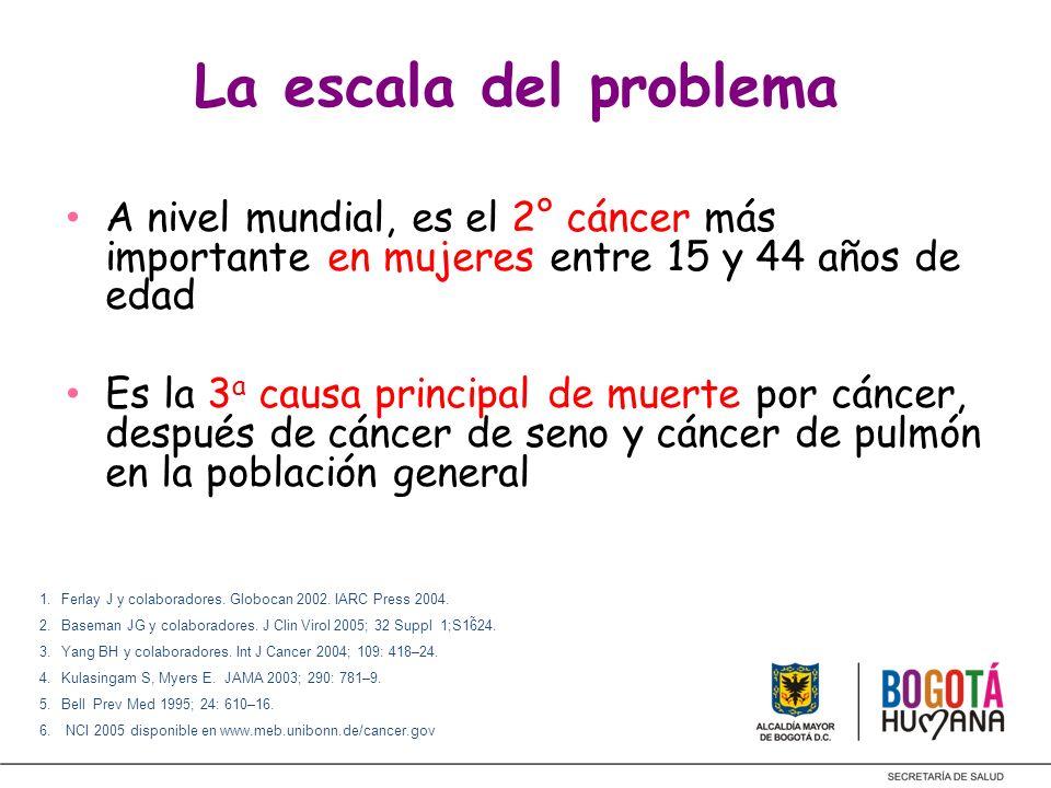 PROBLEMA DE SALUD PUBLICA Grave problema de salud pública Mortalidad de 10.1/100.000 5000 casos/año 2500 muertes/año Cronje.
