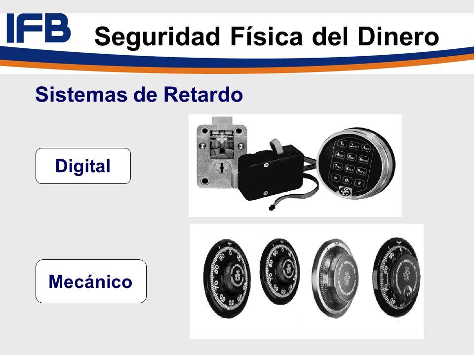 Sistemas de Retardo Digital Mecánico Seguridad Física del Dinero