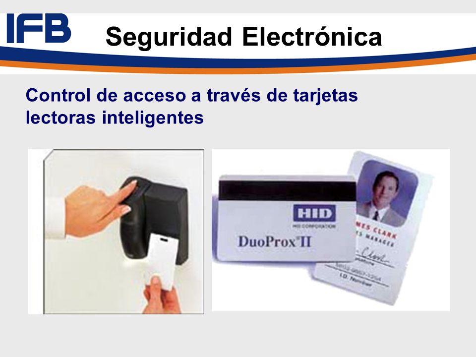 Control de acceso a través de tarjetas lectoras inteligentes