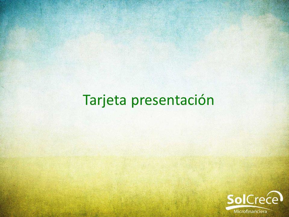 Tarjeta presentación