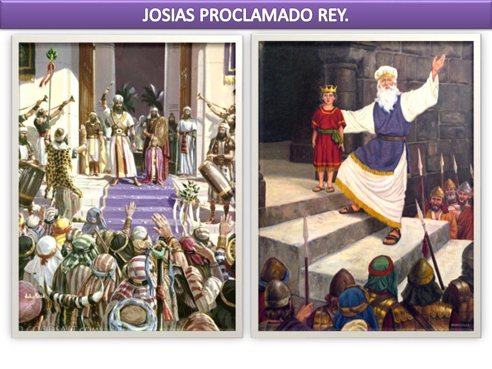 2 Crónicas 34 En el año octavo de su reinado, siendo aún muy joven, Josías comenzó a buscar al Dios de su antepasado David.
