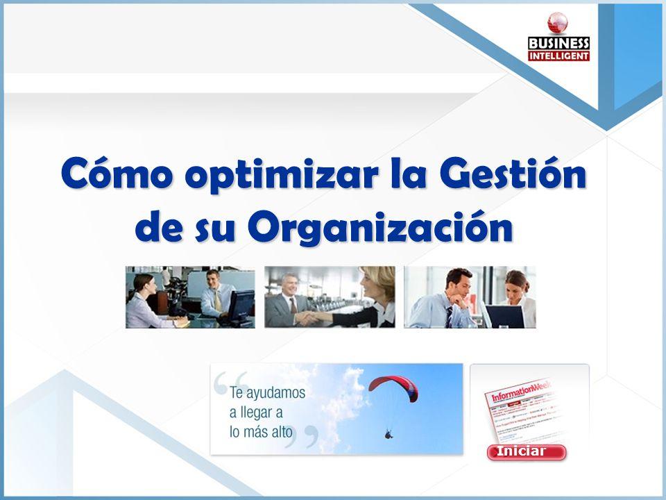 Cómo optimizar la Gestión de su Organización Iniciar