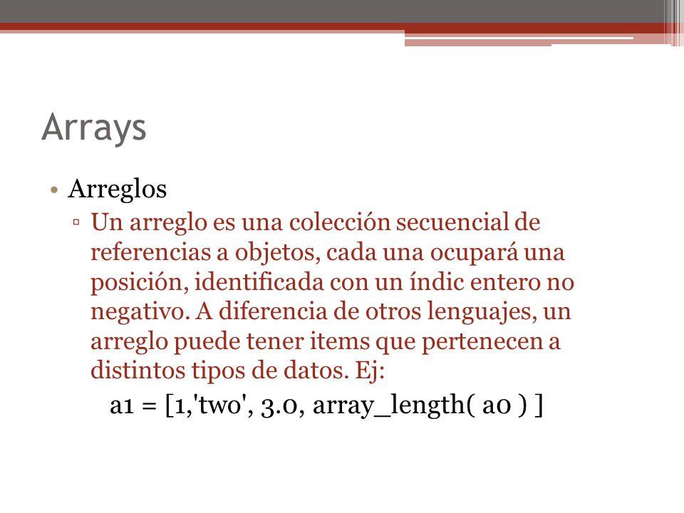 Superclases x = 6.class begin x = x.superclass puts(x) end until x == Object =>Fixnum Integer Numeric Object nil