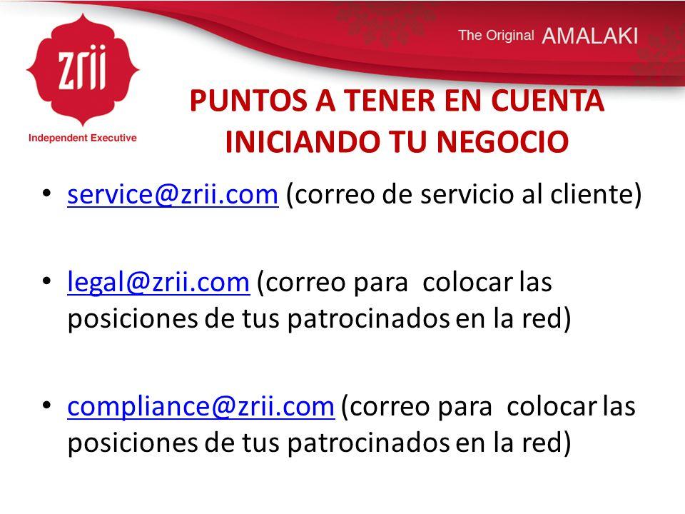 PUNTOS A TENER EN CUENTA INICIANDO TU NEGOCIO CONTACTOS UTAH 8018788000 servicio al cliente 8663499911 fax servicio al cliente Personal en Ingles y Español