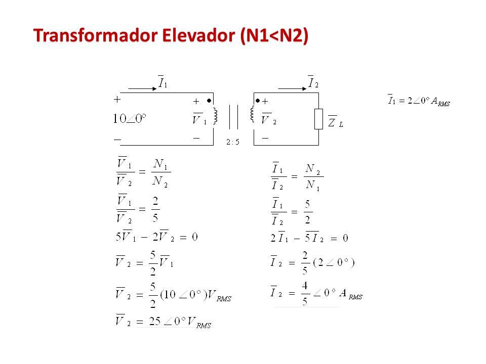 Transformador Elevador (N1<N2)