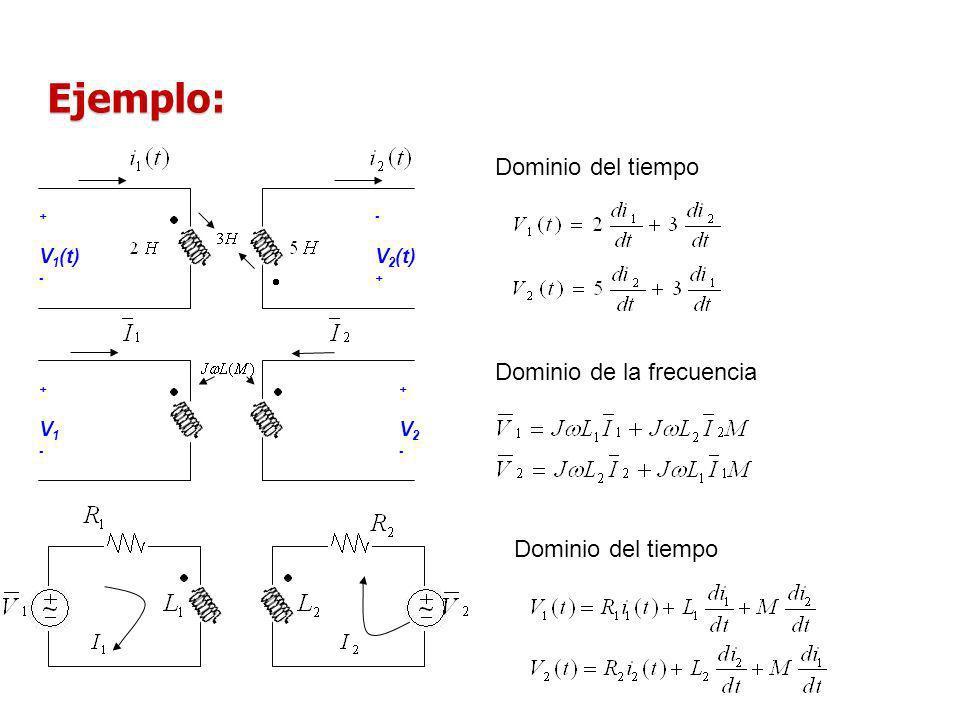 I Norton = 13,190 - 56,659 [Arms] Z th = Z N = 4,048 69,463 [ ] R L =4,048 [ ] R// P Max = 260,69[W] R// Con W = 2 rad/seg; Frecuencia = 60 Hz; Voltaje de fuente 100 Vrms a cero grados