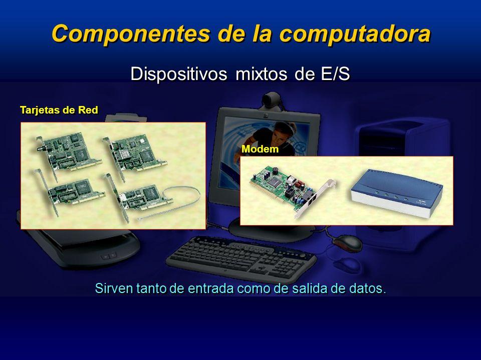 Dispositivos de procesamiento Componentes que realizan el trabajo pesado.