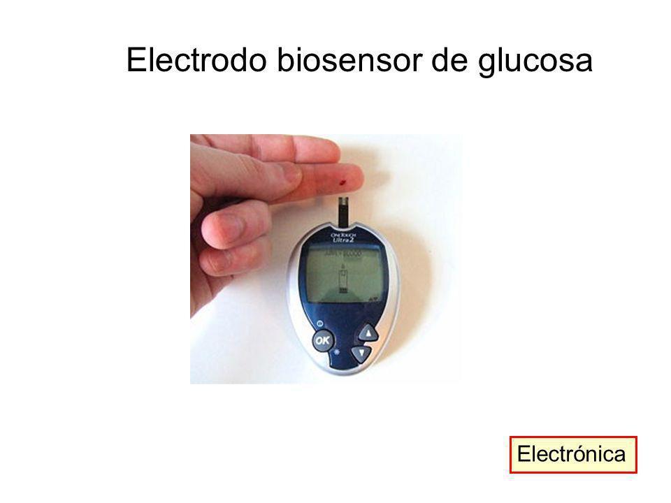 Electrónica Electrodo biosensor de glucosa