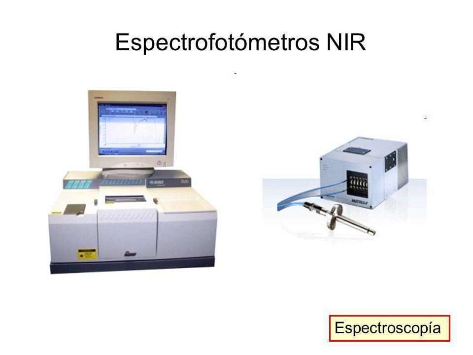 Espectrofotómetros NIR Espectroscopía