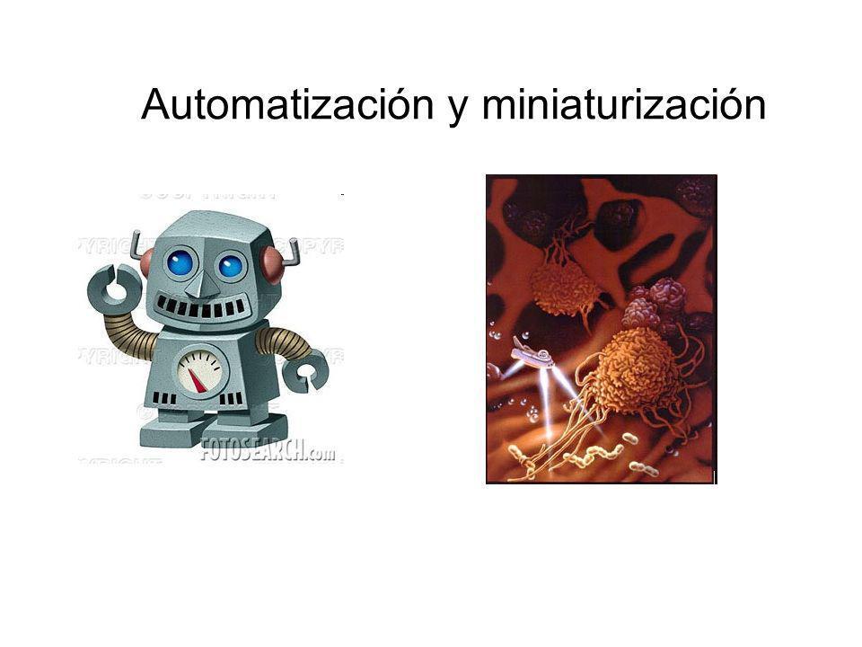 Automatización y miniaturización