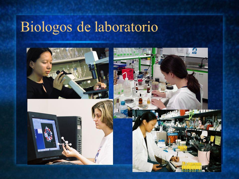 Biologos de laboratorio