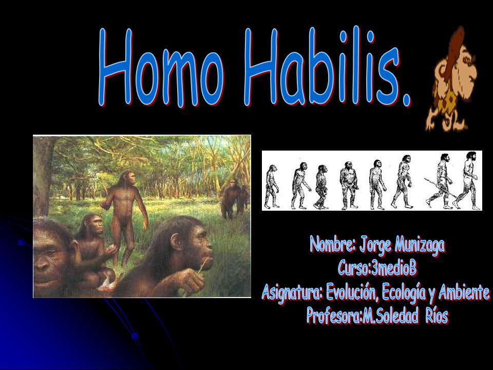 Objetivo: conocer una de las primeras especies humanas que habitaron nuestro planeta y dieron paso a la especie actual.