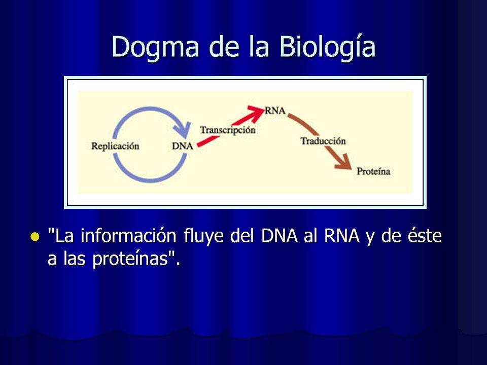Dogma de la Biología