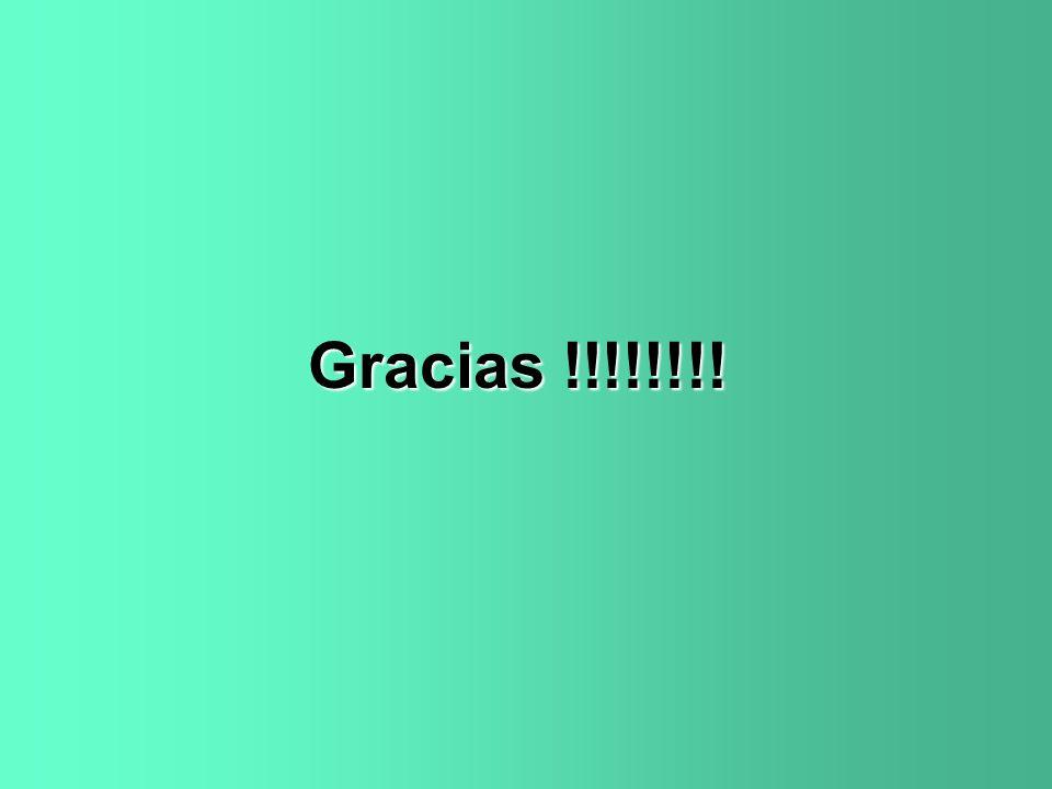 Gracias !!!!!!!!