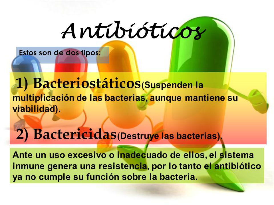 Es un grave problema para la salud pública, porque las infecciones leves, que afectan a la población, provocadas por bacterias sensibles a penicilina, hoy en día esas infecciones son producidas por los mismos gérmenes pero que han mutado y son resistentes, por lo que la penicilina que erradicaba la infección, no tiene el mismo efecto bactericida, y necesitamos usar otro tipo de antibióticos.