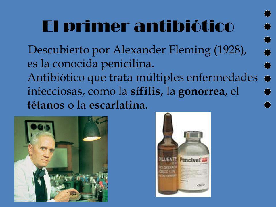 Enfermedades Gracias al tratamiento antibiótico se ha advertido una notable disminución de la frecuencia y la tasa mortalidad por enfermedades como la Tuberculosis, Meningitis y fiebre tifoidea.