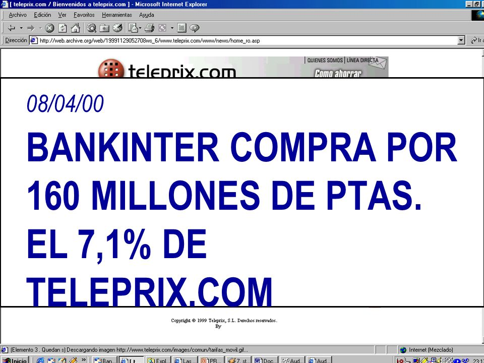 28/06/00 ERESMAS PRESENTA LA PRIMERA TARIFA PLANA DE ESPAÑA