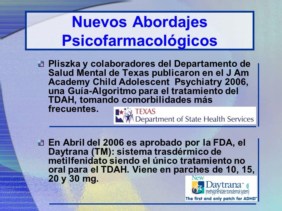 Dosificación METILFENIDATO: dura de 3-4 hrs., niños 7 años, inicie con 5mg. DEXEDRINA*: Dos veces más potente que el Metilfenidato (se da la mitad de