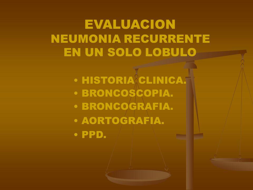 Guía Para El Diagnostico De Bronconeumonía Crónica No Localizada Exámenes Obligatorios: Rx de tórax, PPD Exámenes Obligatorios: Rx de tórax, PPD Diagn