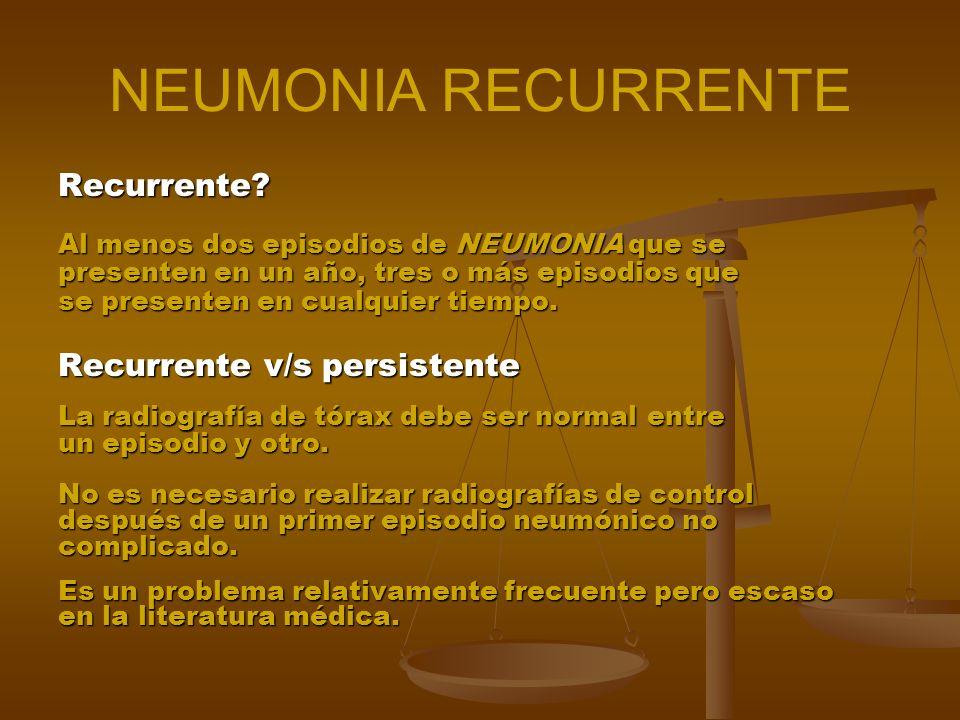 Definición Se ha definido como Neumonía Adquirida en la Comunidad (NAC), la que aparece en sujetos que conviven en la comunidad y que no han sido hosp