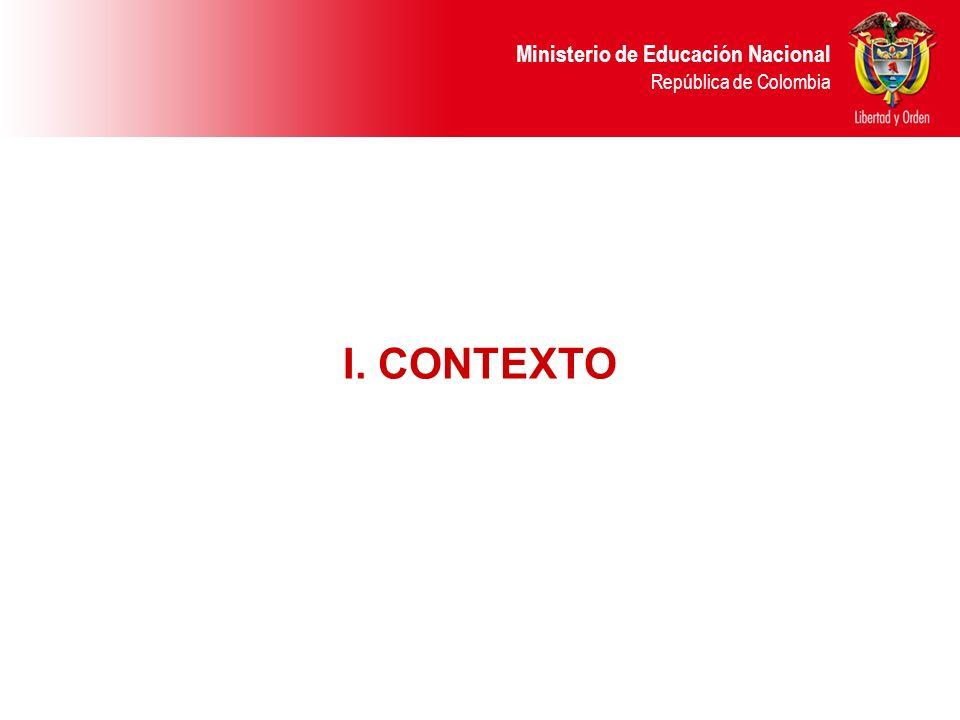 Ministerio de Educación Nacional República de Colombia EJERCICIO No.