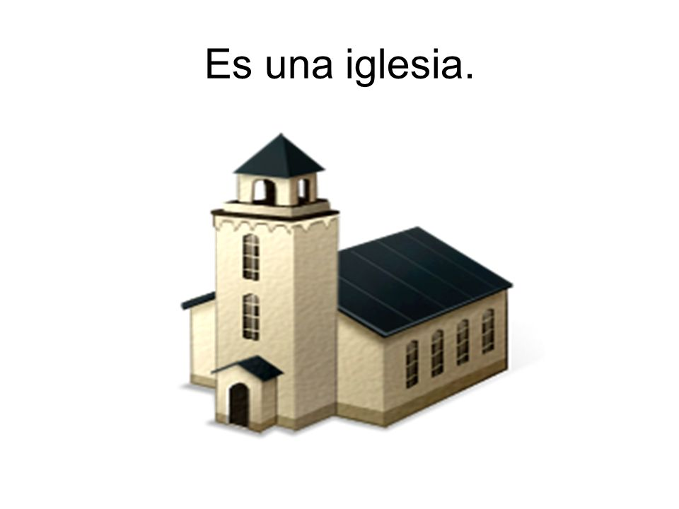 Es una iglesia.