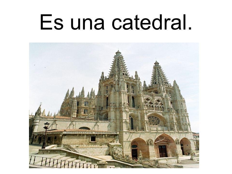 Es una catedral.