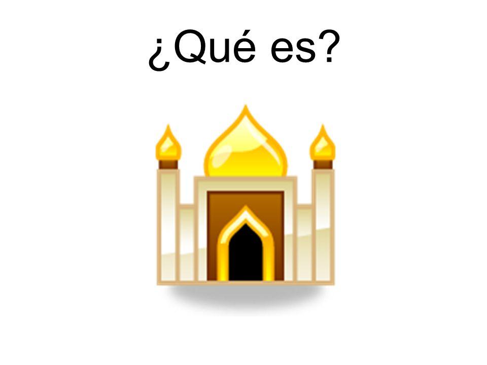 Es una mezquita.