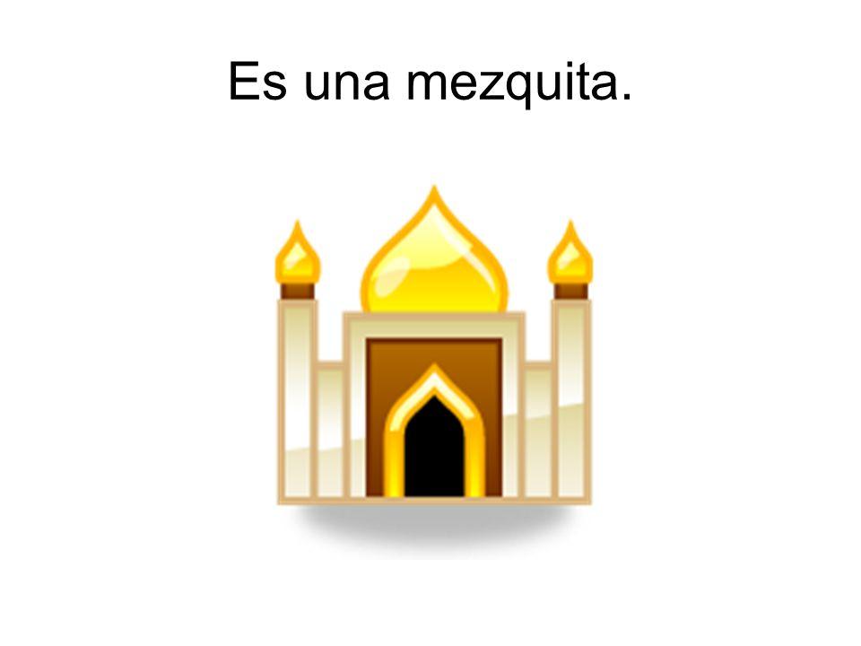 Es una sinagoga.