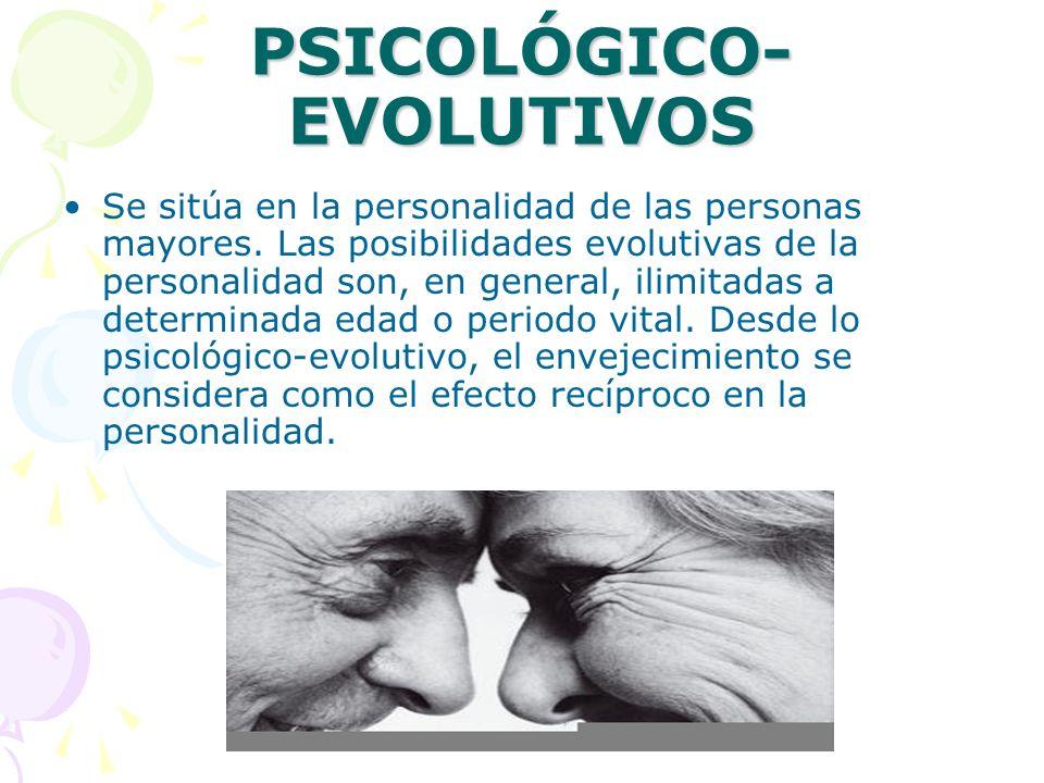 SOCIAL-PSICOLÓGICOS La psicología social, especialmente en los últimos años, ha hecho del envejecimiento uno de sus campos centrales.