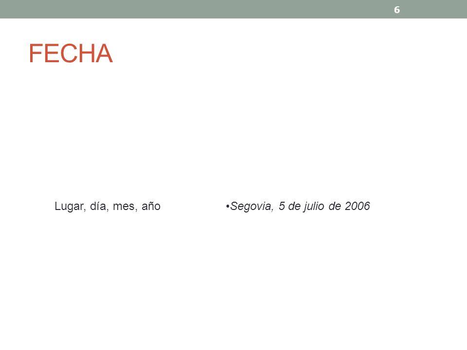 ASUNTO Y REFERENCIA Asunto y referencia AsuntoAsunto: Solicitud de trabajo ReferenciaReferencia: anuncio publicado en El País de fecha 12 de abril de 2006 7