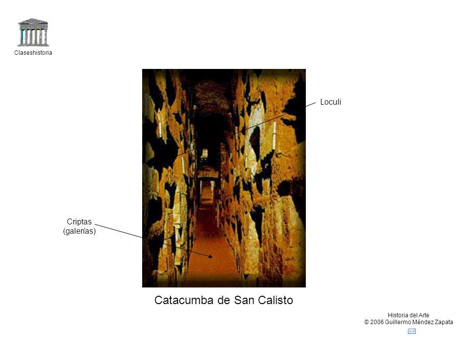 Claseshistoria Historia del Arte © 2006 Guillermo Méndez Zapata Mausoleo de Santa Constanza.