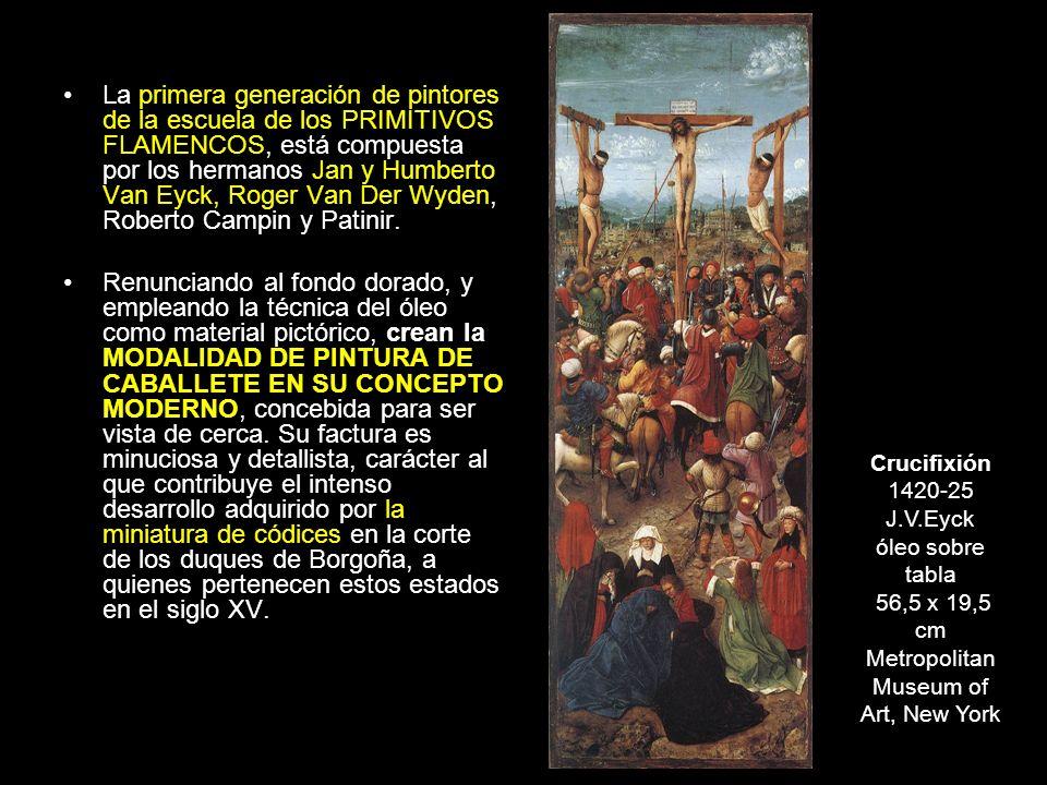 La flagelación de Cristo, 1450 Jaume Huguet témpera sobre madera, 106 x 210 cm Musée du Louvre, Paris